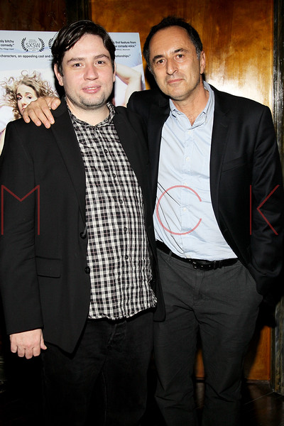 "NEW YORK, NY - OCTOBER 10:  Director Jonathan Lisecki and Alex Karpovsky attend ""Gaybe"" New York Premiere at Crosby Street Hotel on October 10, 2012 in New York City.  (Photo by Steve Mack/S.D. Mack Pictures)"