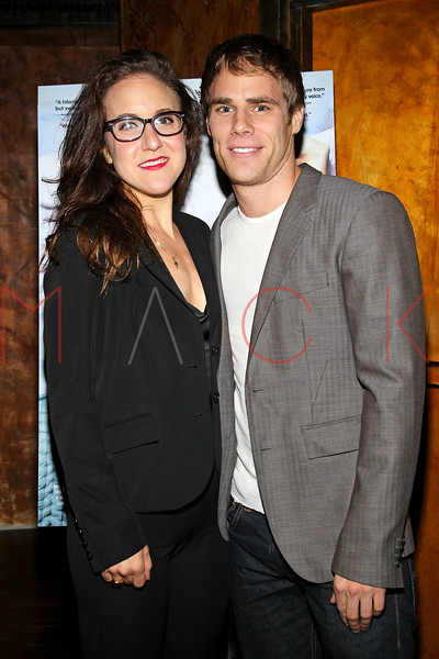 "NEW YORK, NY - OCTOBER 10:  Jenn Harris and Matthew Wilkas attend ""Gaybe"" New York Premiere at Crosby Street Hotel on October 10, 2012 in New York City.  (Photo by Steve Mack/S.D. Mack Pictures)"