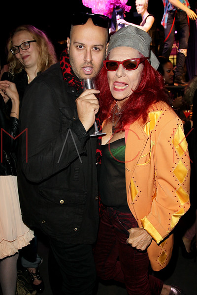 "NEW YORK, NY - OCTOBER 11:  Jimmy ""The Stylist"" Neda and Patricia Field attend K-Fashion Sensation: An Evening Of Korean Fashion And Culture at Dream Downtown on October 11, 2012 in New York City.  (Photo by Steve Mack/S.D. Mack Pictures)"