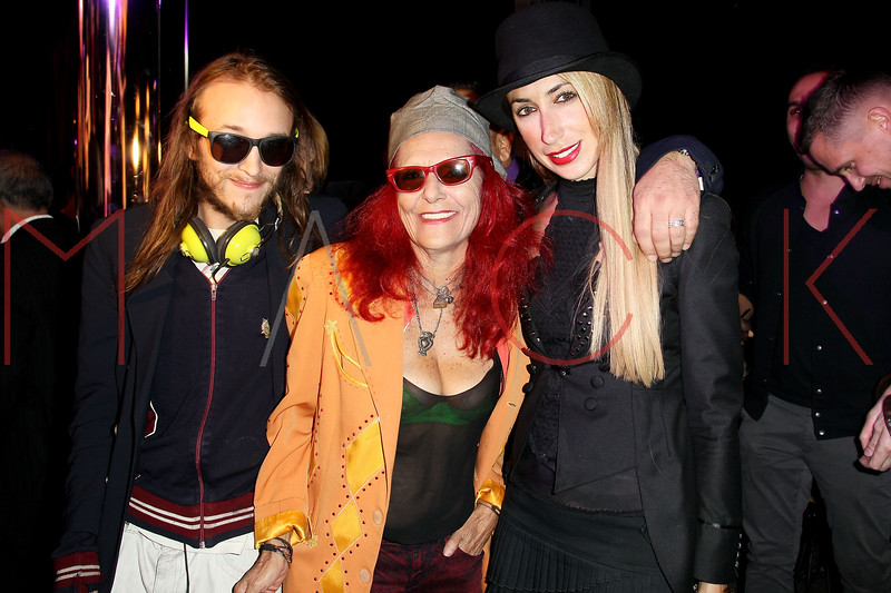 NEW YORK, NY - OCTOBER 11:  Liam McMullan, Patricia Field and Lauren Rae Levy attend K-Fashion Sensation: An Evening Of Korean Fashion And Culture at Dream Downtown on October 11, 2012 in New York City.  (Photo by Steve Mack/S.D. Mack Pictures)