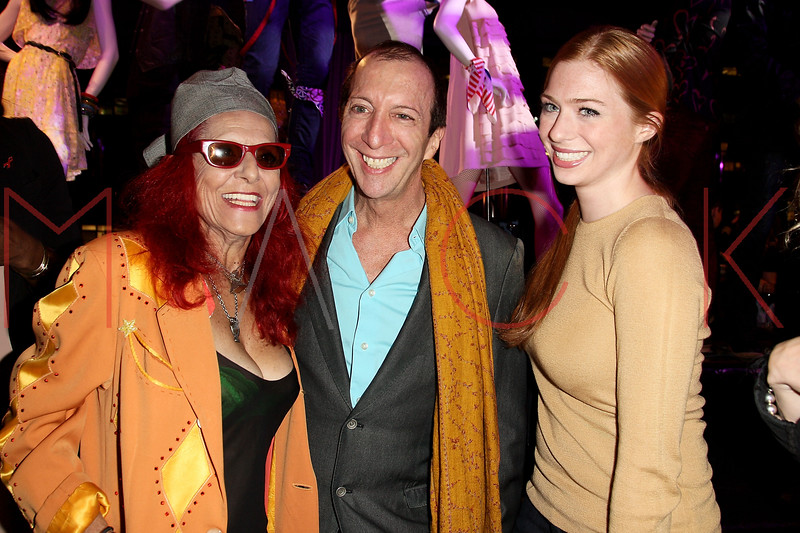 NEW YORK, NY - OCTOBER 11:  Patricia Field and Tom Silverman founder of Tommy Boy Records and guest attend K-Fashion Sensation: An Evening Of Korean Fashion And Culture at Dream Downtown on October 11, 2012 in New York City.  (Photo by Steve Mack/S.D. Mack Pictures)