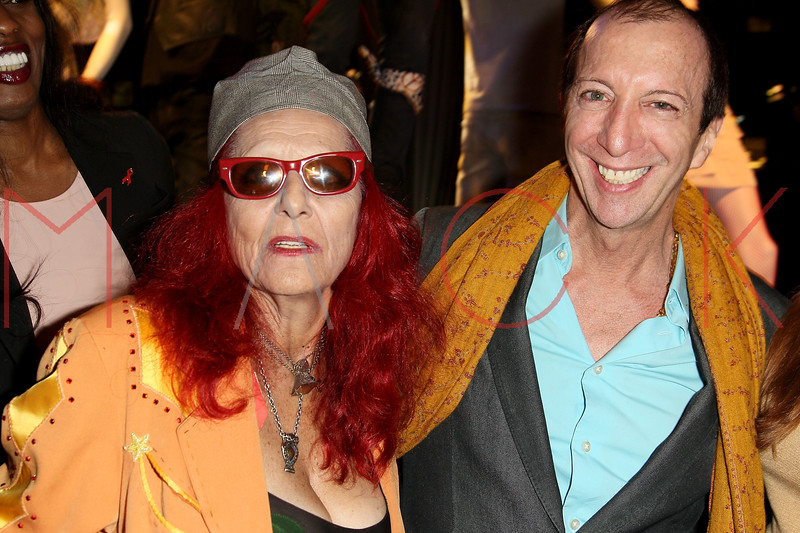 NEW YORK, NY - OCTOBER 11:  Patricia Field and Tom Silverman founder of Tommy Boy Records attend K-Fashion Sensation: An Evening Of Korean Fashion And Culture at Dream Downtown on October 11, 2012 in New York City.  (Photo by Steve Mack/S.D. Mack Pictures)