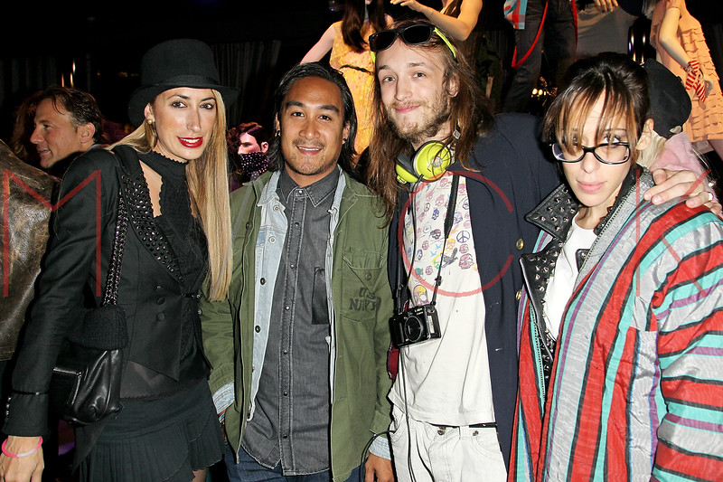 NEW YORK, NY - OCTOBER 11:  Lauren Rae Levy, Nary Manivong, Liam McMullen and Aesha Waks attend K-Fashion Sensation: An Evening Of Korean Fashion And Culture at Dream Downtown on October 11, 2012 in New York City.  (Photo by Steve Mack/S.D. Mack Pictures)