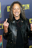 "NEW YORK, NY - OCTOBER 09:  Kirk Hammett of Metallica attends the ""Led Zeppelin: Celebration Day"" premiere at the Ziegfeld Theater on October 9, 2012 in New York City.  (Photo by Steve Mack/S.D. Mack Pictures)"