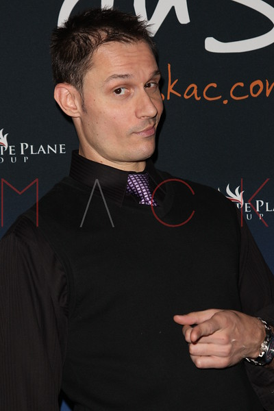 """ATLANTIC CITY, NJ - OCTOBER 13:  Keith Collins attends the """"Meat Puppet-World Premiere"""" party at DUSK at Caesars Atlantic City on October 13, 2012 in Atlantic City, New Jersey.  (Photo by Steve Mack/S.D. Mack Pictures)"""
