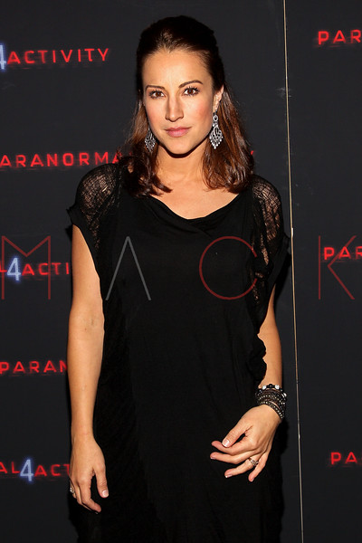 "NEW YORK, NY - OCTOBER 16:  America Olivo attends the ""Paranormal Activity 4"" screening at Regal E-Walk Stadium 13 on October 16, 2012 in New York City.  (Photo by Steve Mack/S.D. Mack Pictures)"
