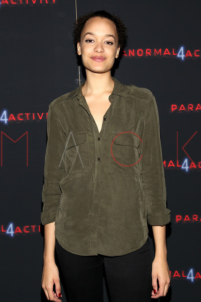 """NEW YORK, NY - OCTOBER 16:  Britne Oldford attends the """"Paranormal Activity 4"""" screening at Regal E-Walk Stadium 13 on October 16, 2012 in New York City.  (Photo by Steve Mack/S.D. Mack Pictures)"""