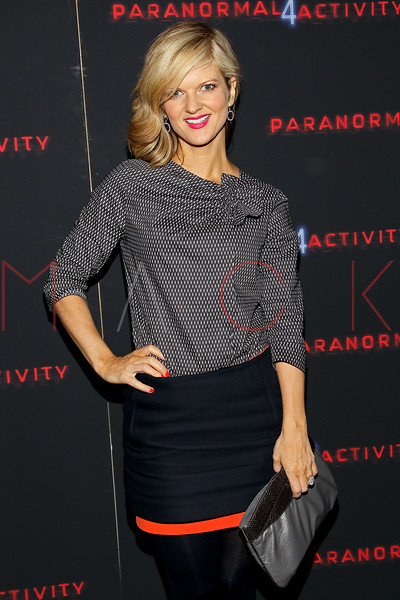 "NEW YORK, NY - OCTOBER 16:  Arden Myrin attends the ""Paranormal Activity 4"" screening at Regal E-Walk Stadium 13 on October 16, 2012 in New York City.  (Photo by Steve Mack/S.D. Mack Pictures)"