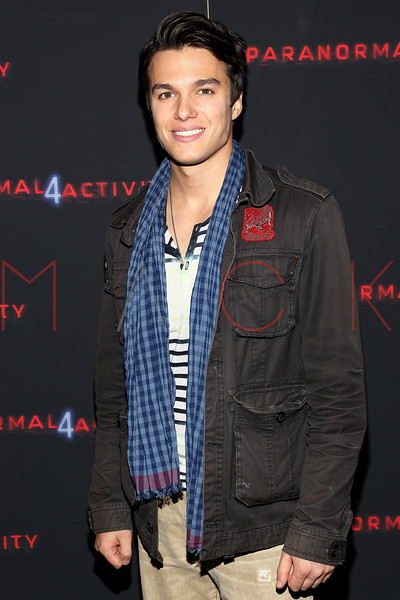 """NEW YORK, NY - OCTOBER 16:  Chris Riggi attends the """"Paranormal Activity 4"""" screening at Regal E-Walk Stadium 13 on October 16, 2012 in New York City.  (Photo by Steve Mack/S.D. Mack Pictures)"""