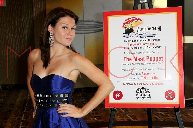 "ATLANTIC CITY, NJ - OCTOBER 14:  Theresa Galeani attends the world premiere of ""The Meat Puppet"" at the Golden Nugget Hotel & Casino on October 14, 2012 in Atlantic City, New Jersey.  (Photo by Steve Mack/S.D. Mack Pictures)"