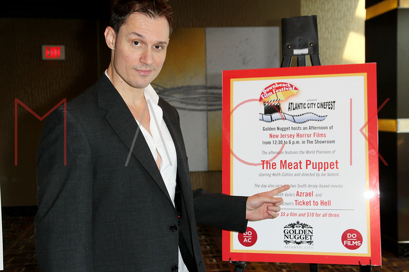 "ATLANTIC CITY, NJ - OCTOBER 14:  Creater/producer/actor Keith Colline attends the world premiere of ""The Meat Puppet"" at the Golden Nugget Hotel & Casino on October 14, 2012 in Atlantic City, New Jersey.  (Photo by Steve Mack/S.D. Mack Pictures)"