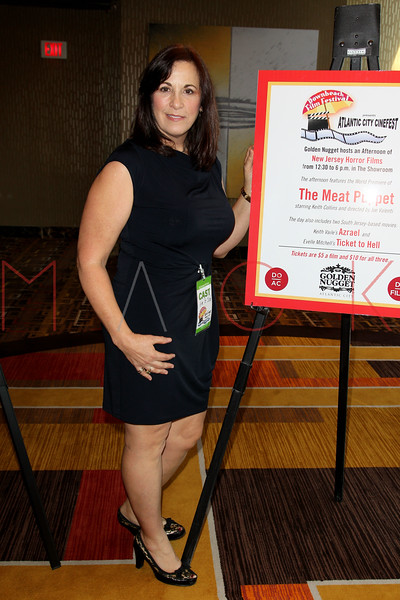 "ATLANTIC CITY, NJ - OCTOBER 14:  Kim St. Clair attends the world premiere of ""The Meat Puppet"" at the Golden Nugget Hotel & Casino on October 14, 2012 in Atlantic City, New Jersey.  (Photo by Steve Mack/S.D. Mack Pictures)"
