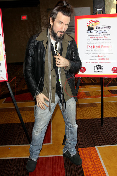 """ATLANTIC CITY, NJ - OCTOBER 14:  Ron ÒBumblefootÓ Thal of Guns N Roses attends the world premiere of """"The Meat Puppet"""" at the Golden Nugget Hotel & Casino on October 14, 2012 in Atlantic City, New Jersey.  (Photo by Steve Mack/S.D. Mack Pictures)"""