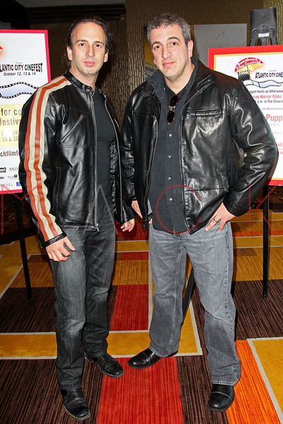 """ATLANTIC CITY, NJ - OCTOBER 14:  Joseph Pepitone and Billy Pepitone attend the world premiere of """"The Meat Puppet"""" at the Golden Nugget Hotel & Casino on October 14, 2012 in Atlantic City, New Jersey.  (Photo by Steve Mack/S.D. Mack Pictures)"""