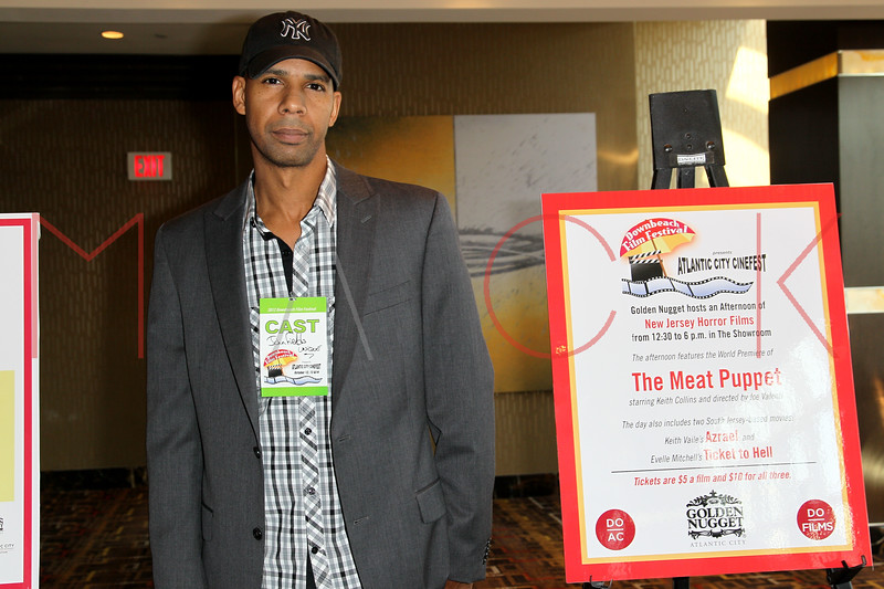 "ATLANTIC CITY, NJ - OCTOBER 14:  DJ Unique attends the world premiere of ""The Meat Puppet"" at the Golden Nugget Hotel & Casino on October 14, 2012 in Atlantic City, New Jersey.  (Photo by Steve Mack/S.D. Mack Pictures)"