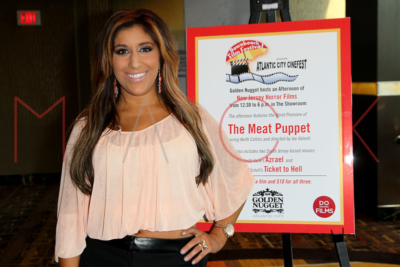 """ATLANTIC CITY, NJ - OCTOBER 14:  Faith Stanek attends the world premiere of """"The Meat Puppet"""" at the Golden Nugget Hotel & Casino on October 14, 2012 in Atlantic City, New Jersey.  (Photo by Steve Mack/S.D. Mack Pictures)"""