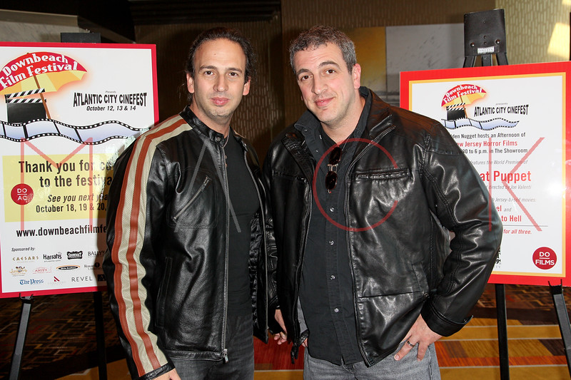 "ATLANTIC CITY, NJ - OCTOBER 14:  Joseph Pepitone and Billy Pepitone attend the world premiere of ""The Meat Puppet"" at the Golden Nugget Hotel & Casino on October 14, 2012 in Atlantic City, New Jersey.  (Photo by Steve Mack/S.D. Mack Pictures)"
