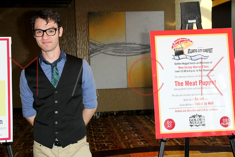 """ATLANTIC CITY, NJ - OCTOBER 14:  Kyle Tuck attends the world premiere of """"The Meat Puppet"""" at the Golden Nugget Hotel & Casino on October 14, 2012 in Atlantic City, New Jersey.  (Photo by Steve Mack/S.D. Mack Pictures)"""
