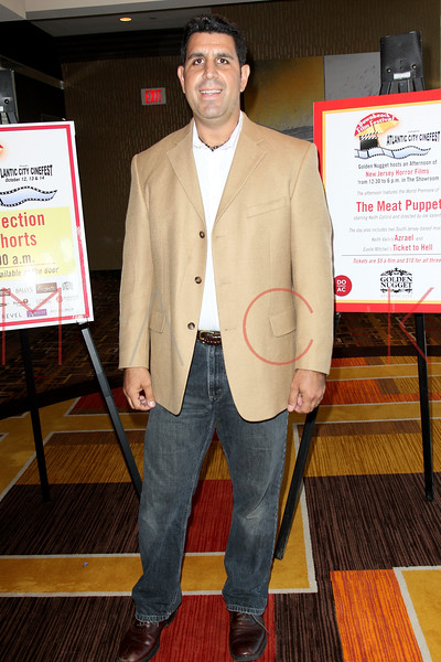 """ATLANTIC CITY, NJ - OCTOBER 14:  Director Joe Valenti attends the world premiere of """"The Meat Puppet"""" at the Golden Nugget Hotel & Casino on October 14, 2012 in Atlantic City, New Jersey.  (Photo by Steve Mack/S.D. Mack Pictures)"""