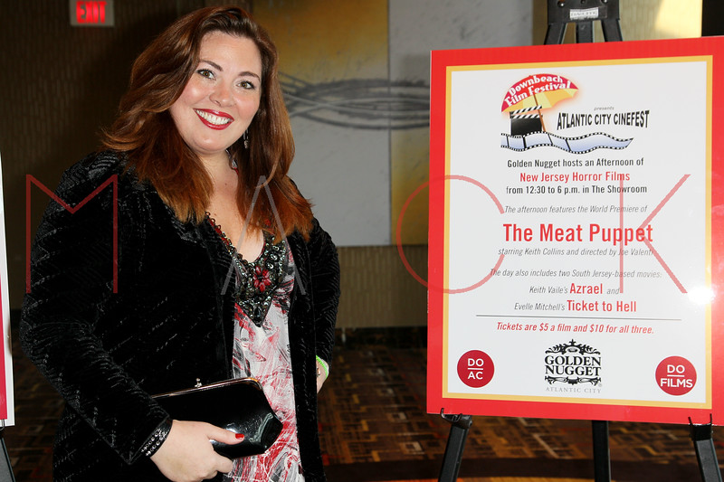"ATLANTIC CITY, NJ - OCTOBER 14:  Producer Blaze Kelly Coyle attends the world premiere of ""The Meat Puppet"" at the Golden Nugget Hotel & Casino on October 14, 2012 in Atlantic City, New Jersey.  (Photo by Steve Mack/S.D. Mack Pictures)"