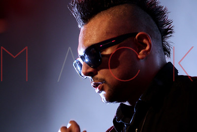 NEW YORK, NY - OCTOBER 02:  Sean Paul performs at S.O.B.'s on October 2, 2012 in New York City.