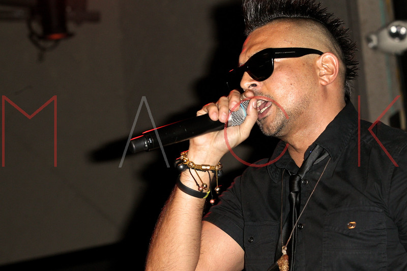NEW YORK, NY - OCTOBER 02:  Sean Paul performs at S.O.B.'s on October 2, 2012 in New York City.  (Photo by Steve Mack/S.D. Mack Pictures)