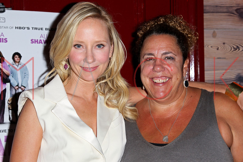 """NEW YORK, NY - OCTOBER 19:  Anne Heche and Marcia DeBonis attends """"That's What She Said"""" premiere party at The Griffin on October 19, 2012 in New York City.  (Photo by Steve Mack/S.D. Mack Pictures)"""