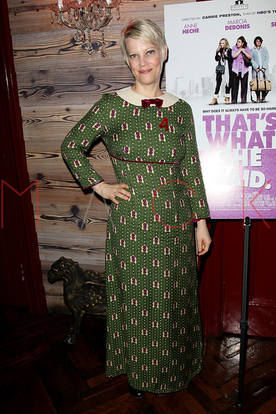 """NEW YORK, NY - OCTOBER 19:  Kellie Overbey attends """"That's What She Said"""" premiere party at The Griffin on October 19, 2012 in New York City.  (Photo by Steve Mack/S.D. Mack Pictures)"""