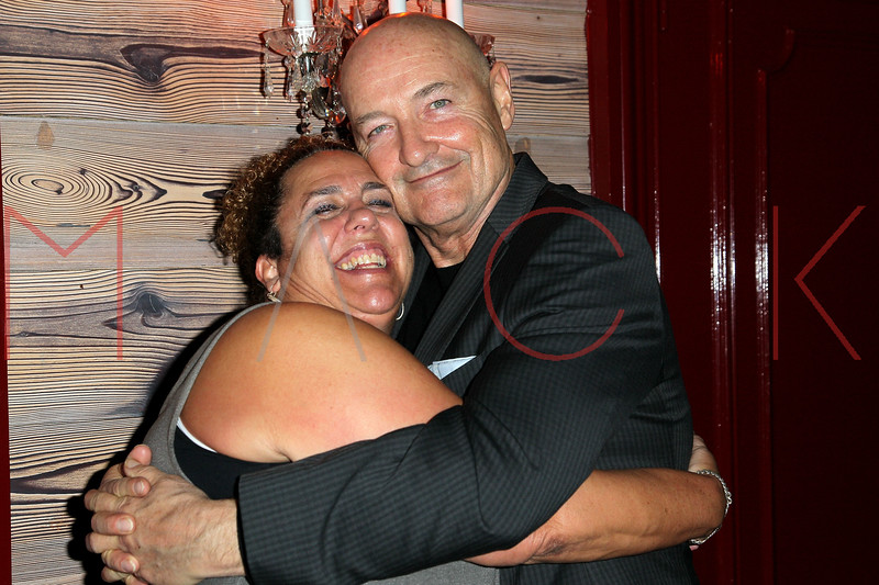 "NEW YORK, NY - OCTOBER 19:  Marcia DeBonis and Terry O'Quinn attend ""That's What She Said"" premiere party at The Griffin on October 19, 2012 in New York City.  (Photo by Steve Mack/S.D. Mack Pictures)"
