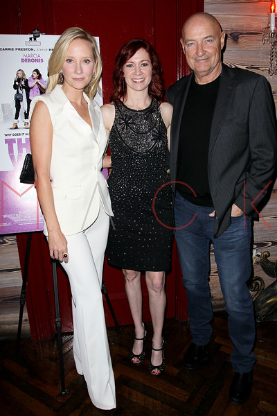 "NEW YORK, NY - OCTOBER 19:  Anne Heche, Carrie Preston, Director and Terry O'Quinn attend ""That's What She Said"" premiere party at The Griffin on October 19, 2012 in New York City.  (Photo by Steve Mack/S.D. Mack Pictures)"