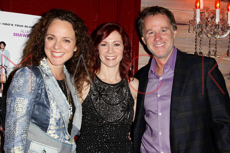 """NEW YORK, NY - OCTOBER 19:  Carrie Preston, Director and Patrick McEnroe attend """"That's What She Said"""" premiere party at The Griffin on October 19, 2012 in New York City.  (Photo by Steve Mack/S.D. Mack Pictures)"""