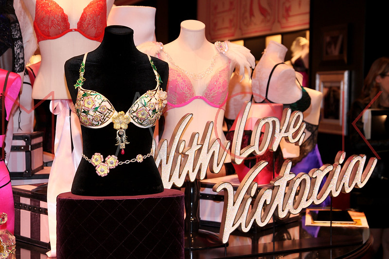 NEW YORK, NY - OCTOBER 18:  Atmosphere at 2012 Victoria's Secret Fantasy Bra reveal at Herald Square on October 18, 2012 in New York City.  (Photo by Steve Mack/S.D. Mack Pictures)