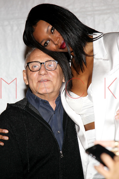NEW YORK, NY - SEPTEMBER 06:  Max Azria and Jessica White attend the  BCBGMAXAZRIA Spring 2013 Mercedes-Benz Fashion Week Show at The Theatre Lincoln Center on September 6, 2012 in New York City.  (Photo by Steve Mack/S.D. Mack Pictures)