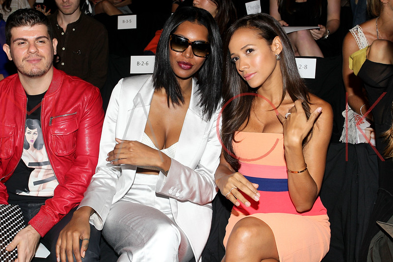 NEW YORK, NY - SEPTEMBER 06:  Jessica White and Dania Ramirez attend the  BCBGMAXAZRIA Spring 2013 Mercedes-Benz Fashion Week Show at The Theatre Lincoln Center on September 6, 2012 in New York City.  (Photo by Steve Mack/S.D. Mack Pictures)