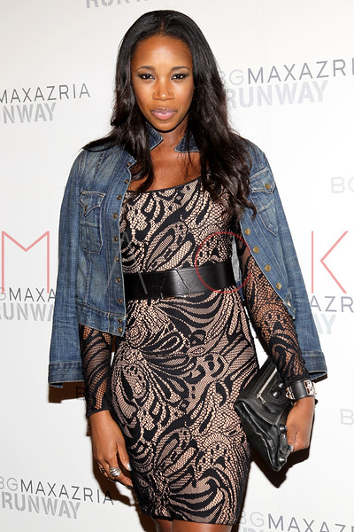 NEW YORK, NY - SEPTEMBER 06:  DJ Kiss attends the  BCBGMAXAZRIA Spring 2013 Mercedes-Benz Fashion Week Show at The Theatre Lincoln Center on September 6, 2012 in New York City.  (Photo by Steve Mack/S.D. Mack Pictures)