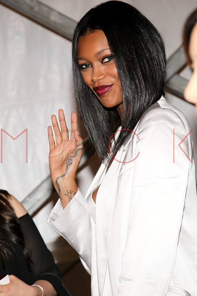 NEW YORK, NY - SEPTEMBER 06:  Jessica White attends the BCBGMAXAZRIA Spring 2013 Mercedes-Benz Fashion Week Show at The Theatre Lincoln Center on September 6, 2012 in New York City.  (Photo by Steve Mack/S.D. Mack Pictures)