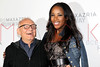 NEW YORK, NY - SEPTEMBER 06:  Max Azria and DJ Kiss attend the  BCBGMAXAZRIA Spring 2013 Mercedes-Benz Fashion Week Show at The Theatre Lincoln Center on September 6, 2012 in New York City.  (Photo by Steve Mack/S.D. Mack Pictures)