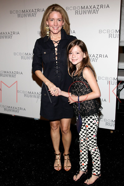 NEW YORK, NY - SEPTEMBER 06:  Kathryn Stockett (L) attends the  BCBGMAXAZRIA Spring 2013 Mercedes-Benz Fashion Week Show at The Theatre Lincoln Center on September 6, 2012 in New York City.  (Photo by Steve Mack/S.D. Mack Pictures)