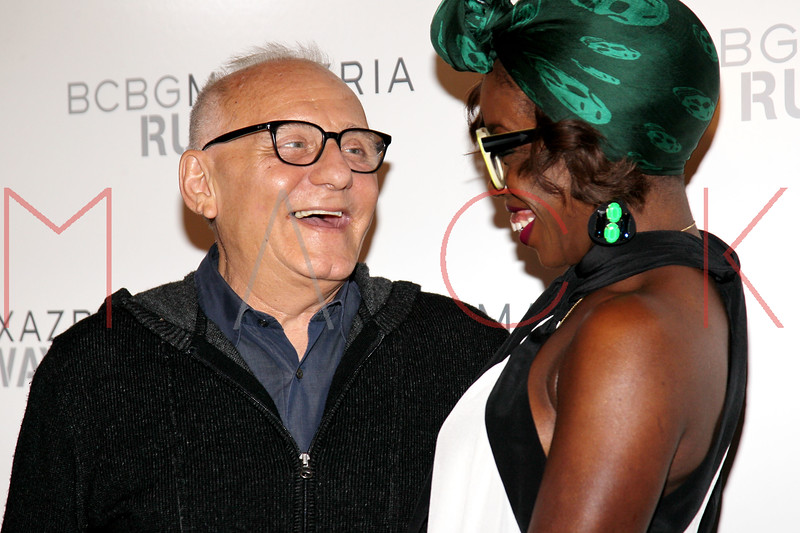 NEW YORK, NY - SEPTEMBER 06:  Max Azria and Estelle attend the  BCBGMAXAZRIA Spring 2013 Mercedes-Benz Fashion Week Show at The Theatre Lincoln Center on September 6, 2012 in New York City.  (Photo by Steve Mack/S.D. Mack Pictures)