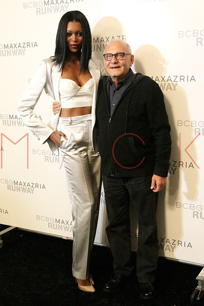NEW YORK, NY - SEPTEMBER 06:  Jessica White and Max Azria attend the  BCBGMAXAZRIA Spring 2013 Mercedes-Benz Fashion Week Show at The Theatre Lincoln Center on September 6, 2012 in New York City.  (Photo by Steve Mack/S.D. Mack Pictures)