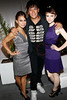 NEW YORK, NY - SEPTEMBER 06:  Toni Trucks, Chaske Spencer and Valorie Curry at Sky Room on September 6, 2012 in New York City.  (Photo by Steve Mack/Getty Images for Caravan)