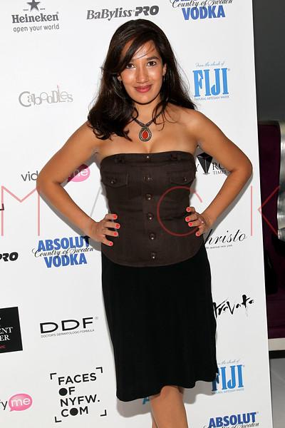 NEW YORK, NY - SEPTEMBER 06:  Purva Bedi at Sky Room on September 6, 2012 in New York City.  (Photo by Steve Mack/Getty Images for Caravan)