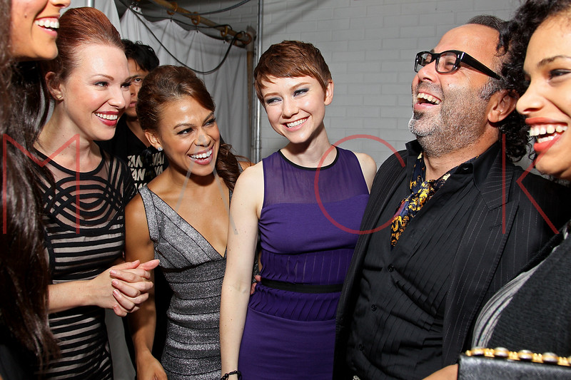 NEW YORK, NY - SEPTEMBER 06:  Erin Cummings, Toni Trucks, Valorie Curry and Christo at Sky Room on September 6, 2012 in New York City.  (Photo by Steve Mack/Getty Images for Caravan)