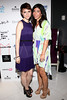NEW YORK, NY - SEPTEMBER 06:  Valorie Curry and Claudine DeSola at Sky Room on September 6, 2012 in New York City.  (Photo by Steve Mack/Getty Images for Caravan)