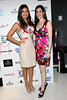 NEW YORK, NY - SEPTEMBER 06:  Johanna Sambucini and Erica Wolf of Save the Garment Center at Sky Room on September 6, 2012 in New York City.  (Photo by Steve Mack/Getty Images for Caravan)