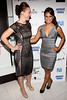 NEW YORK, NY - SEPTEMBER 06:  Erin Cummings and Toni Trucks at Sky Room on September 6, 2012 in New York City.  (Photo by Steve Mack/Getty Images for Caravan)