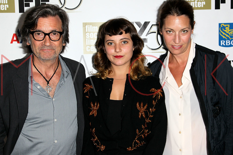 """NEW YORK, NY - SEPTEMBER 30:  Griffin Dunne, Hannah Dunne and Anna Bingemann attend the """"Frances HA"""" premiere during the 50th New York Film Festival at Alice Tully Hall on September 30, 2012 in New York City.  (Photo by Steve Mack/S.D. Mack Pictures)"""