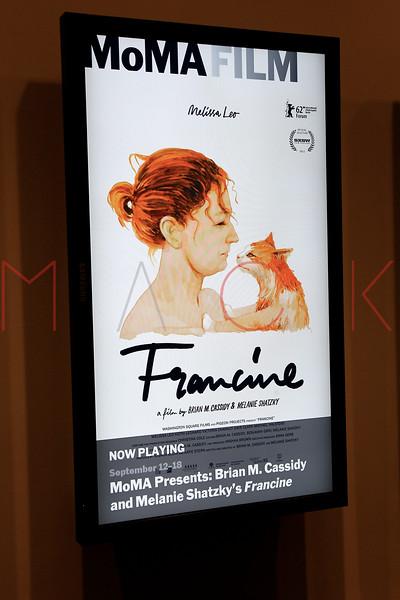 """Francine"" New York Premiere, New York, USA"