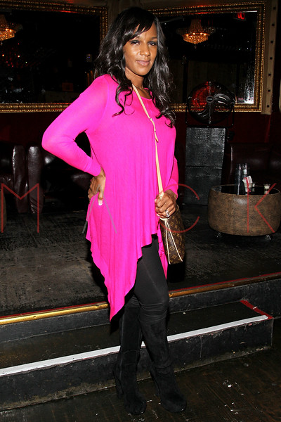 NEW YORK, NY - SEPTEMBER 08:  Jackie Christie of Basketball Wives of LA attends Jackie Christie's New York 2013 Fashion Week Cocktail Reception on September 8, 2012 in New York City.  (Photo by Steve Mack/S.D. Mack Pictures)