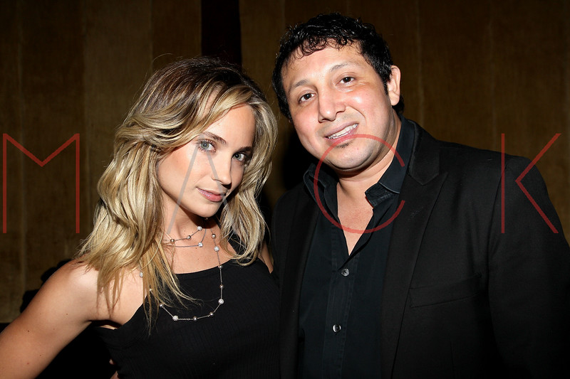 NEW YORK, NY - SEPTEMBER 08:  Cara Quici and Darwin Ortiz attend Jackie Christie's New York 2013 Fashion Week Cocktail Reception on September 8, 2012 in New York City.  (Photo by Steve Mack/S.D. Mack Pictures)